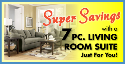 super savings on affordable living room sets